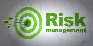 Success Finance Concept: Arrows Hitting The Center Of Target, Gr